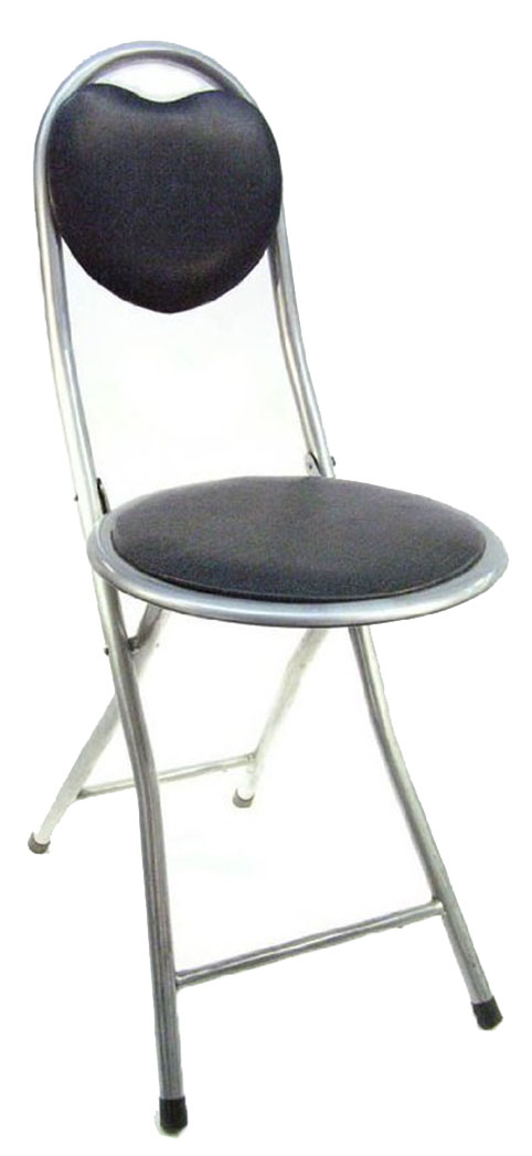 Dlux Small And Sturdy Folding Chairs With Heart Shaped